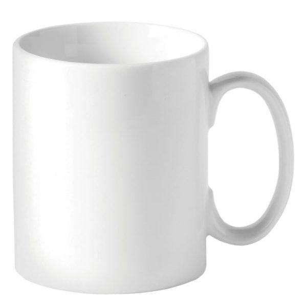 White china mug 11oz