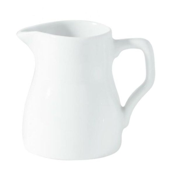 White china milk/cream jug