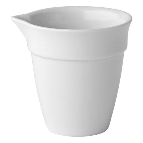 White china individual sauce jug