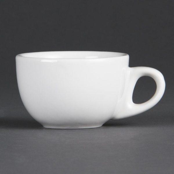White china espresso cup