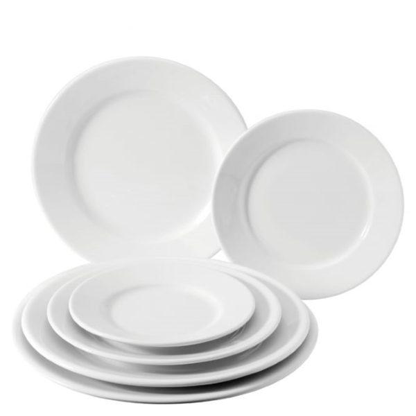 Classic white titan plate