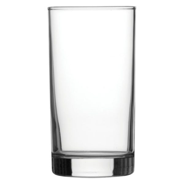 Straight sided hi-ball glass