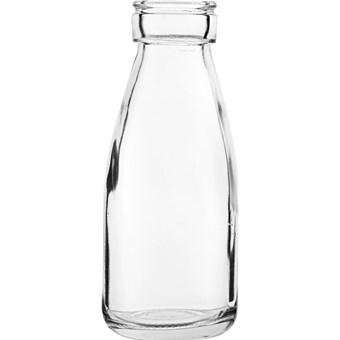 Small glass bottle vase/Cocktail bottle