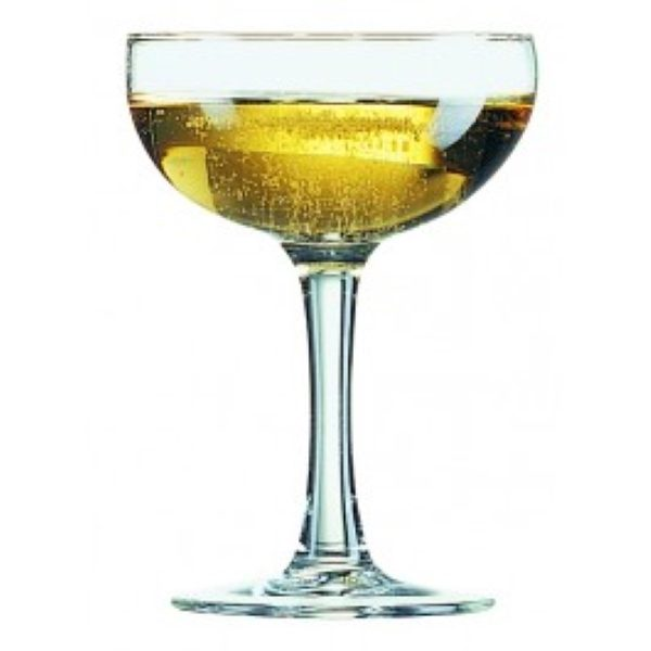 Saucer Coupe Champagne Glass