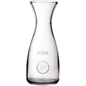 1 litre glass carafe