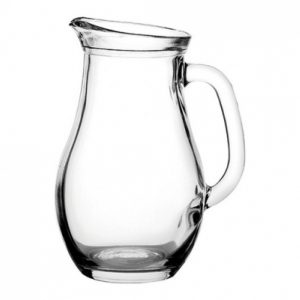 Glass Bistro jug