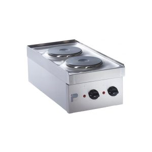 Electric double hotplate boiling top
