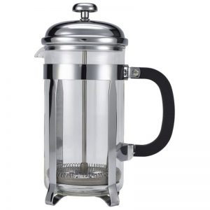 8 cup chrome cafetiere