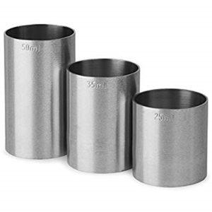 Stainless steel bar measures