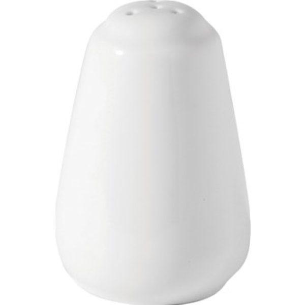 White china pepper shaker