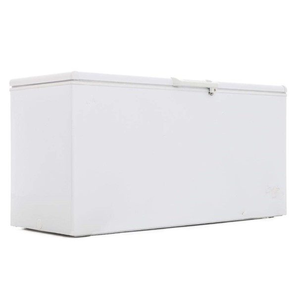 White chest freezer