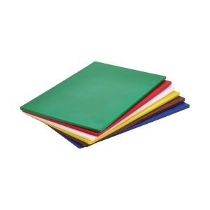 Plastic catering chopping board