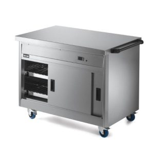 Stainless steel warming plate/hot cupboard