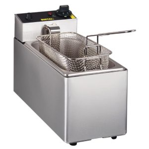 Single basket 5 litre deep fat fryer
