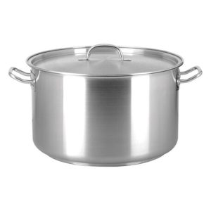 Small aluminium stock pot