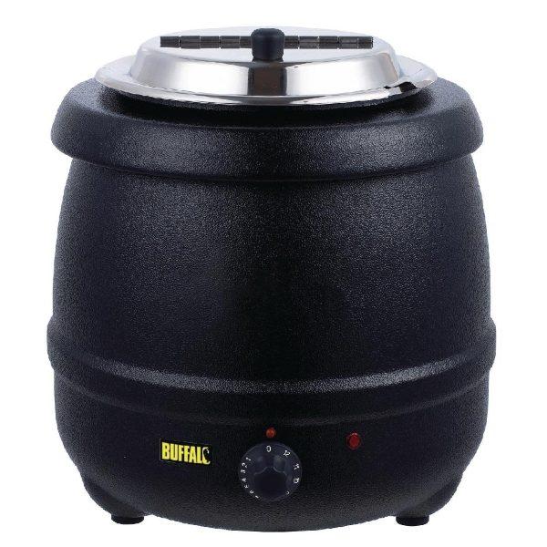 Black buffalo soup kettle