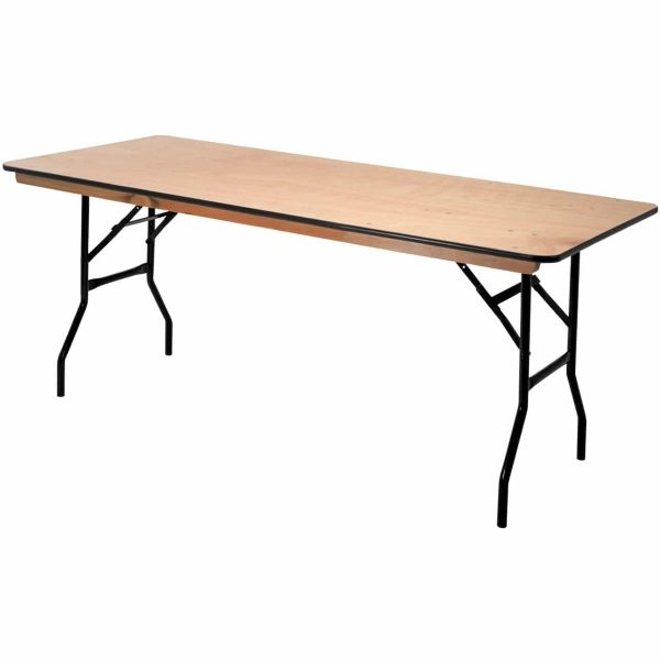 Standard American trestle table