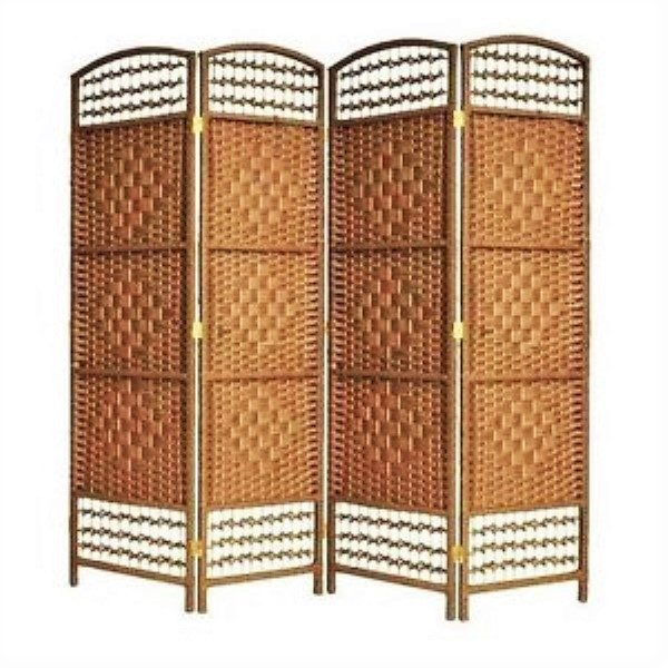 6ft wicker screen