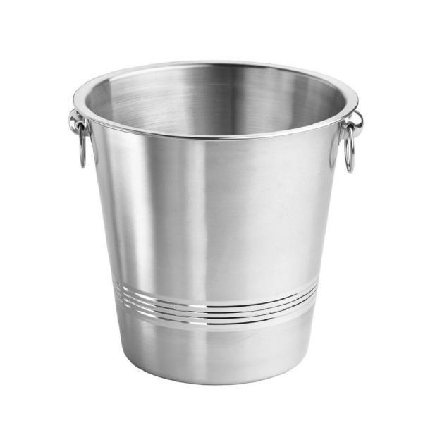 Stainless Steel silver wine bucket